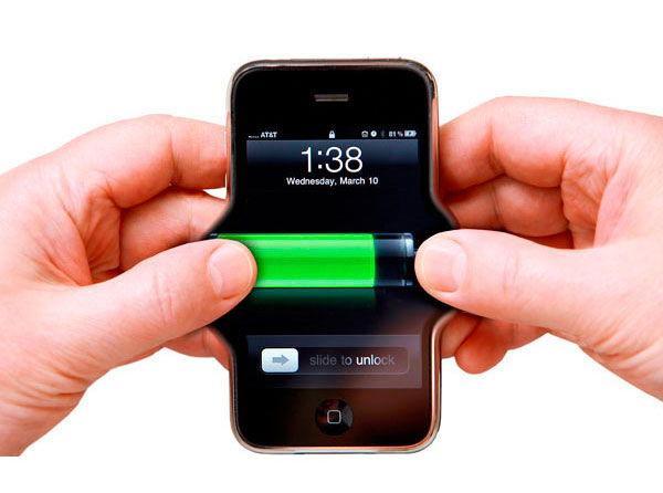 Снижение ресурса батареи
