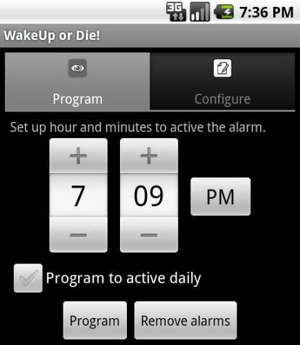 Эффективный WakeUp OrDie! Alarm Clock