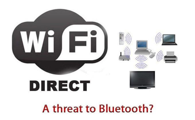 Сравнение Wi Fi Директ и Bluetoth