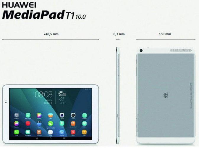 Размеры планшетного компьютера