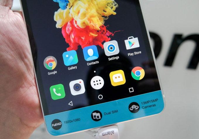 Android с оболочкой Vibe UI
