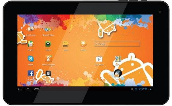 Яркий экран Explay N1 Plus