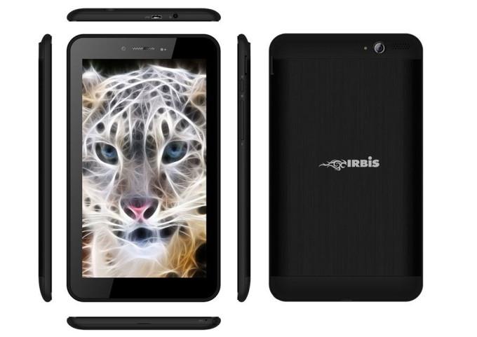 Дизайн планшета Irbis TX61