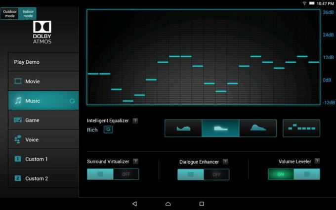 Мультимедийный центр планшета