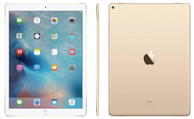 Основная и фронтальная камеры iPad Pro