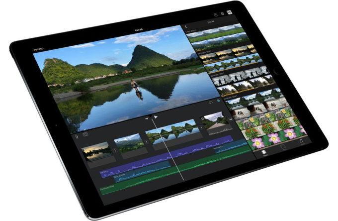 Экран планшета Apple iPad Pro