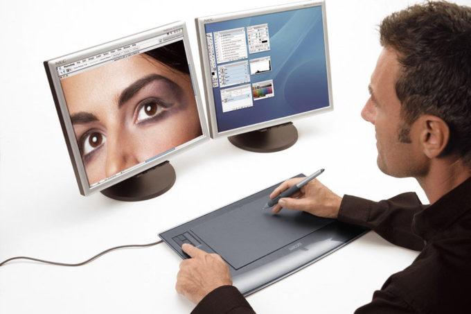 Подключение планшета к мониторам