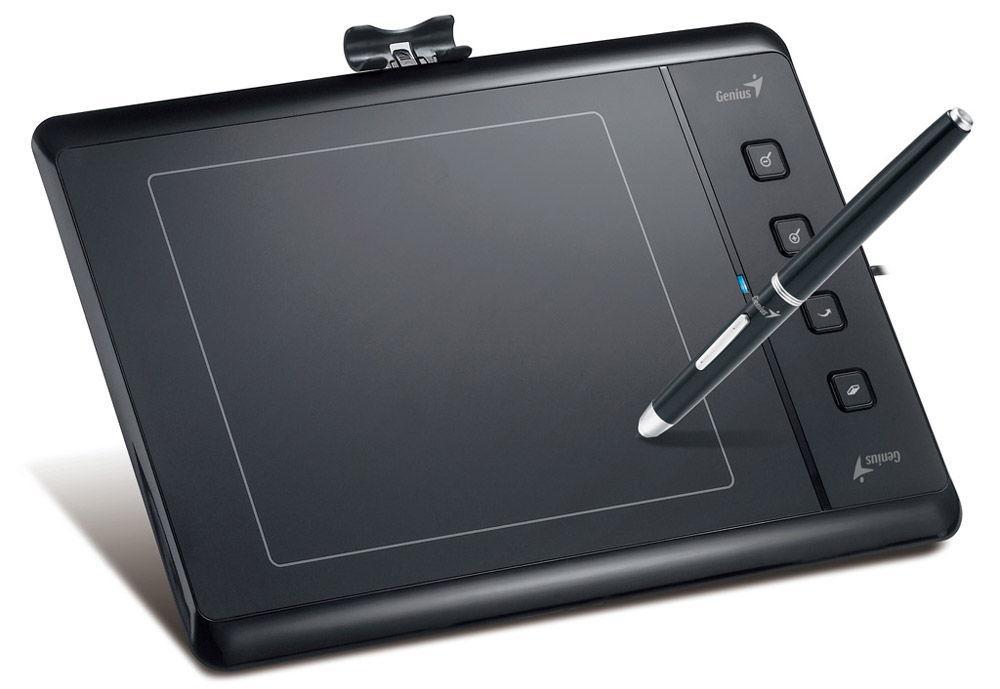 Функциональность графического планшета