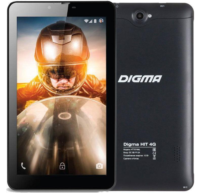 Презентация планшета Digma HIT 4G