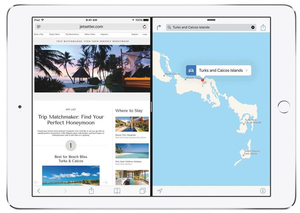 Функция Split screen на iPad