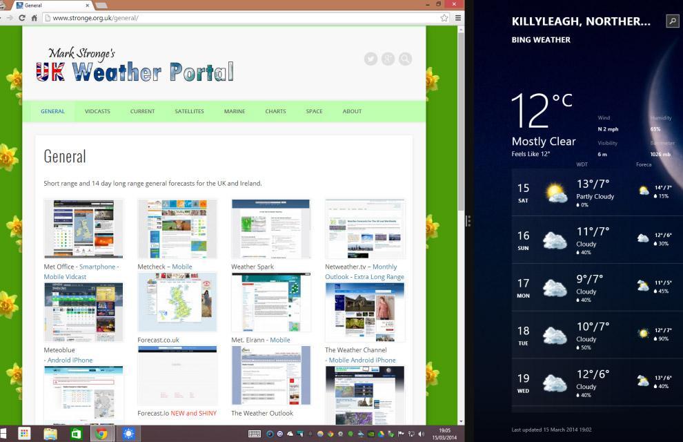 Выполнение разных задач на Windows 8