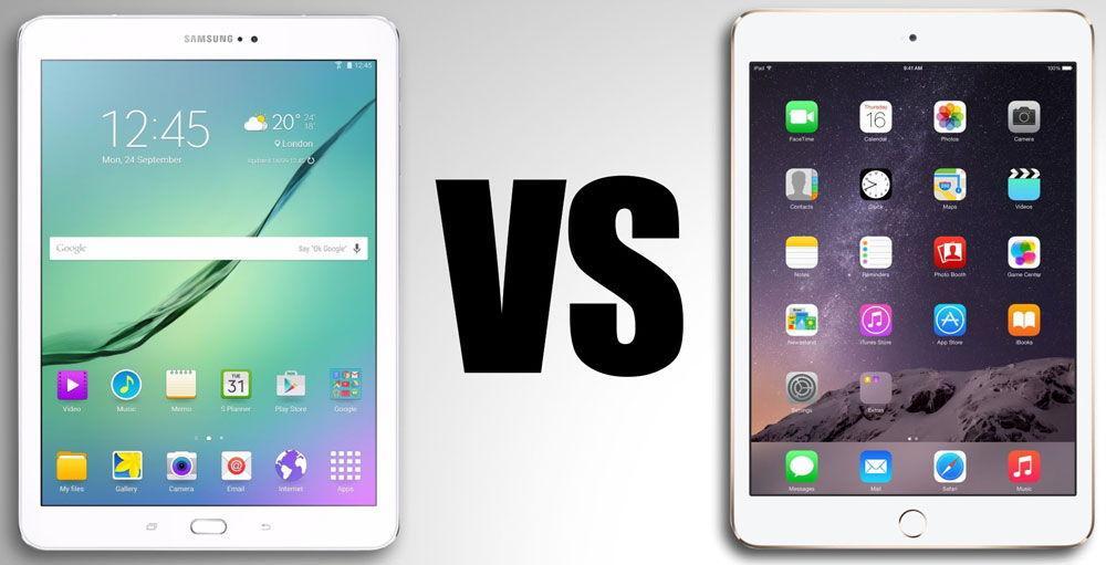Сравнение планшетов от разных производителей