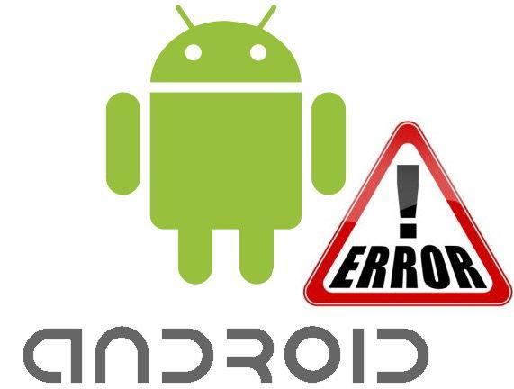 Устранение ошибок Андроид
