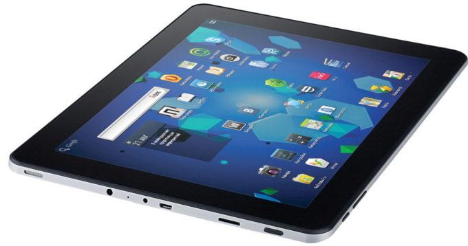 Дизайн планшета MYTAB U9GTV