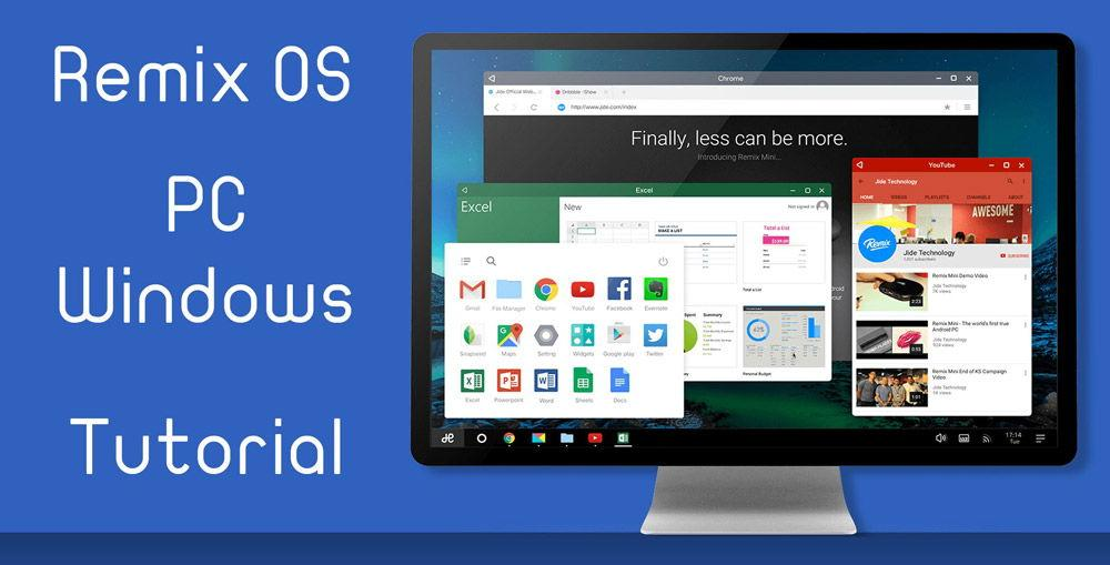 Операционная система Remix OS