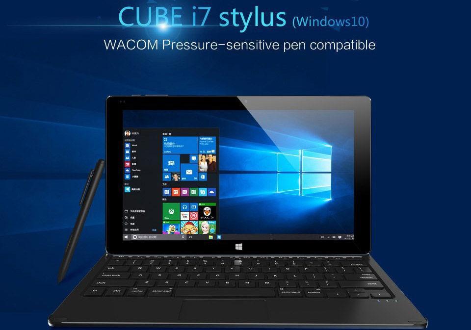 Обзор планшета Cube I7 Stylus