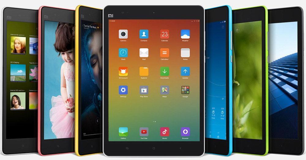 Дизайнерское решение Xiaomi Mi Pad 2