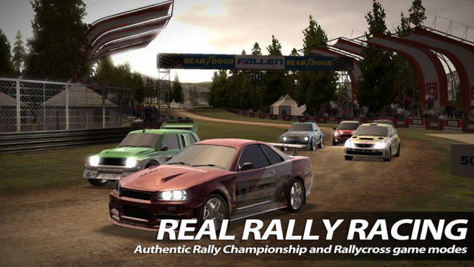 Игровой симулятор Rush Rally 2