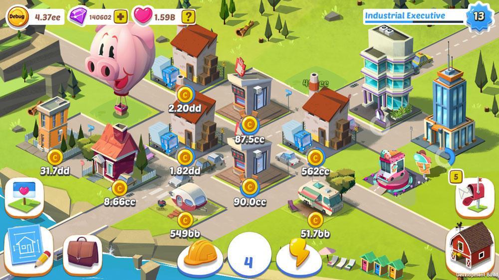 Строительство мегаполиса в Build Away!