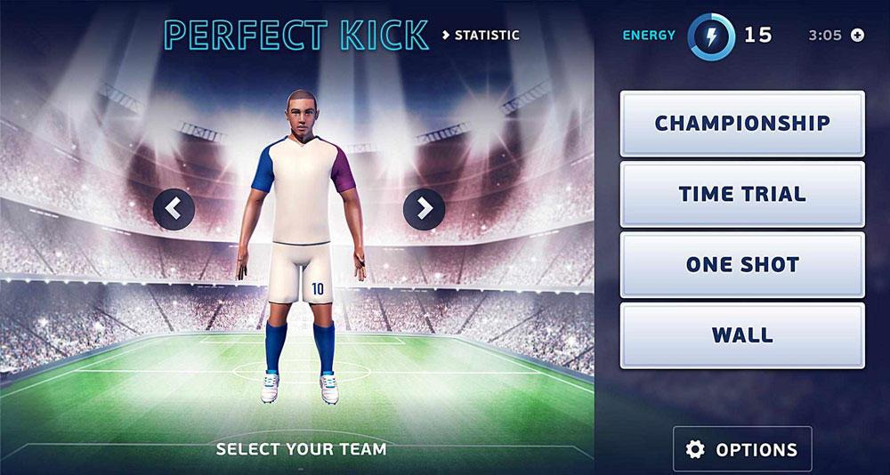 Игра Perfect Soccer FreeKick 3D