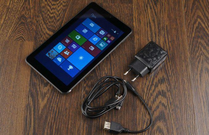 Комплектация планшета для продажи