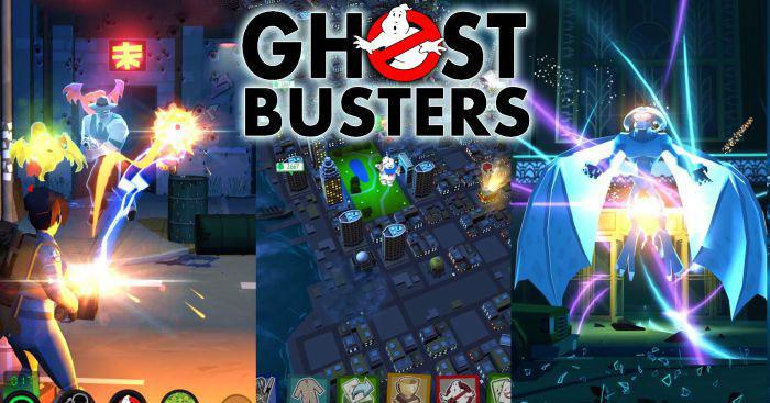 Интерфейс Ghostbusters: Slime City