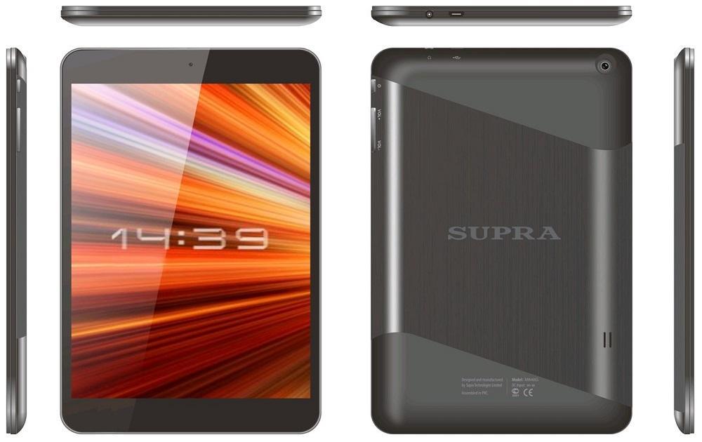 Дизайн планшета Supra