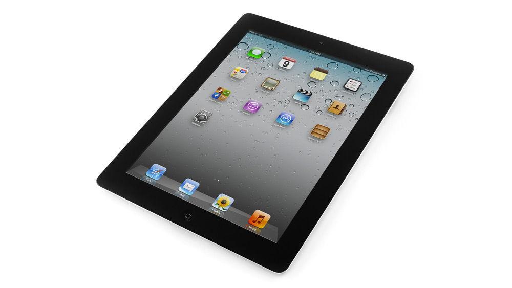 iPad 2 на белом фоне