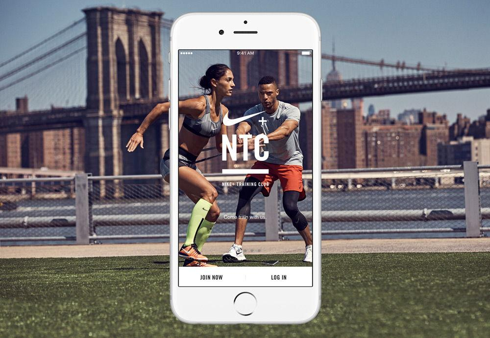 Nike Training Club мужчина и женщина