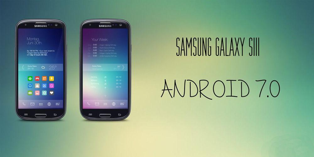 Samsung Galaxy на Android 7