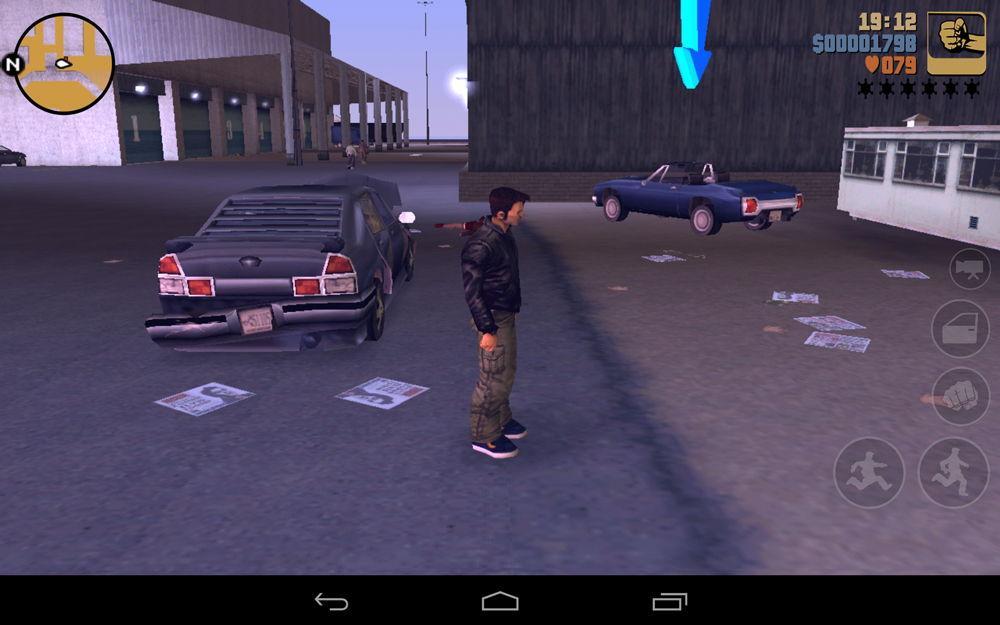GTA 3 на Android