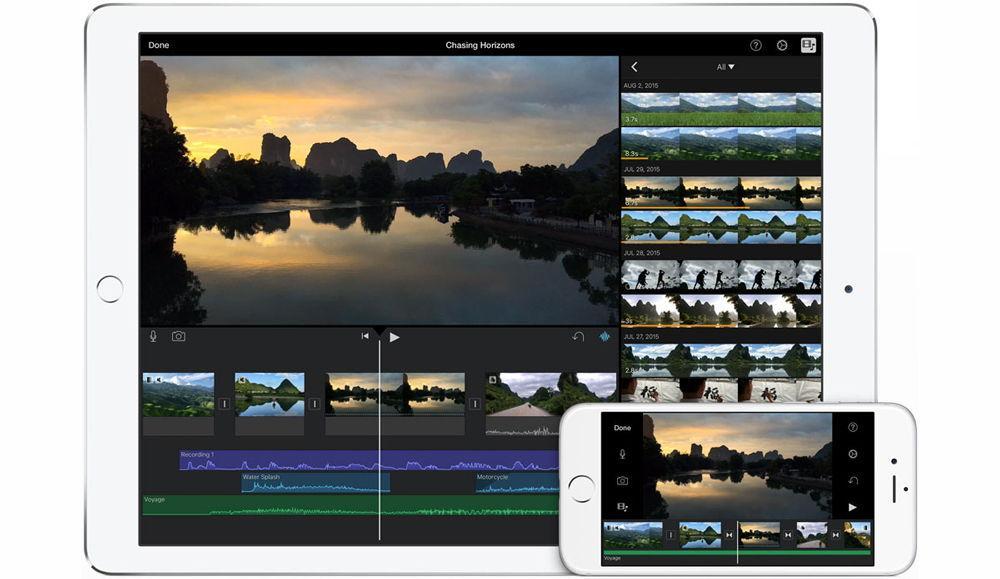 iPad iPhone iMovie