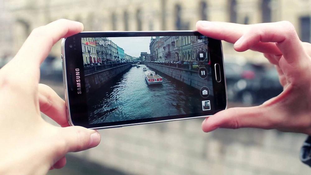 Съемка видео на телефон