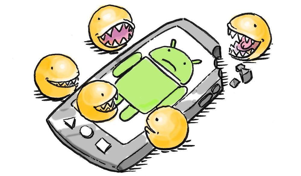 Рисунок телефона на Android