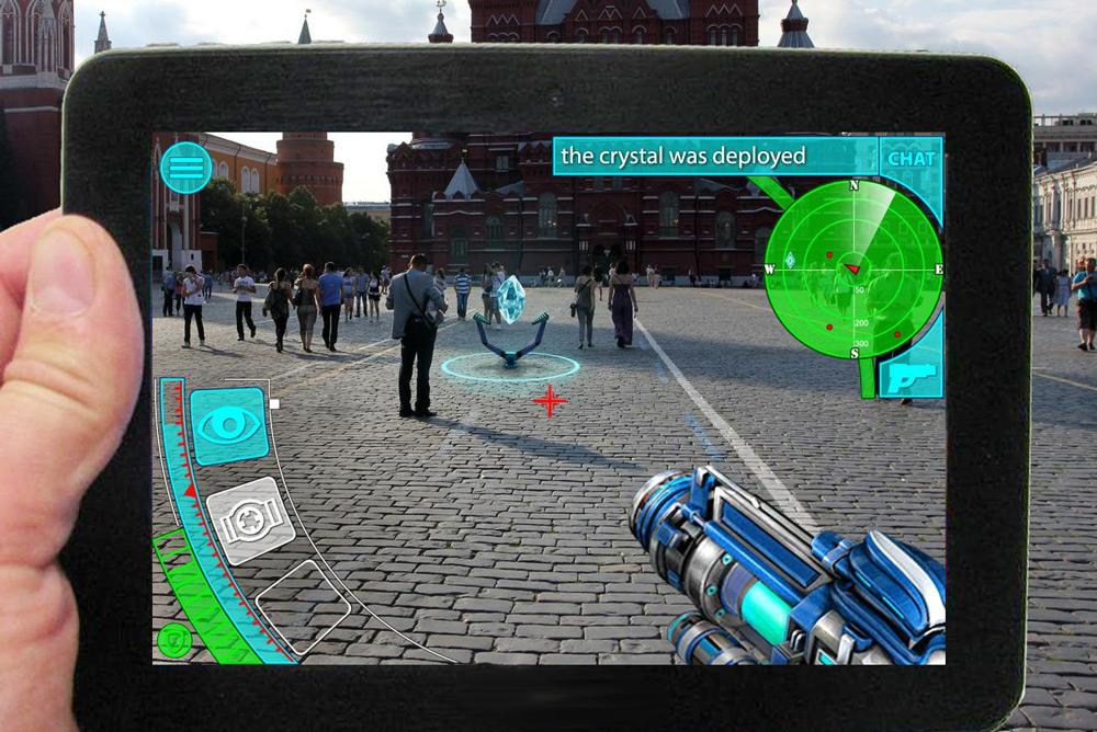 Лучшие AR-игры для планшета