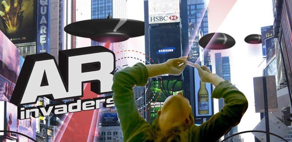 Обзор спасение человечества в AR Invaders