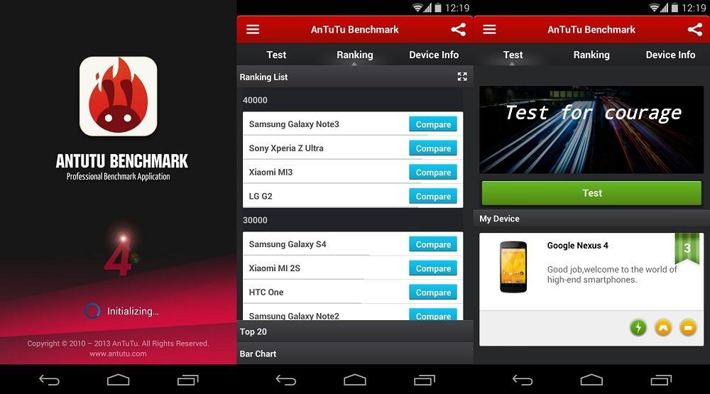 AnTuTu Вenchmark Андроид