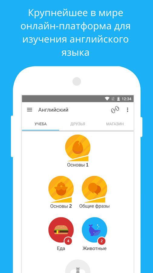 Английский язык Duolingo