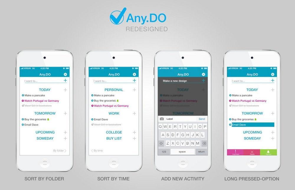 Any.do мобильное приложение