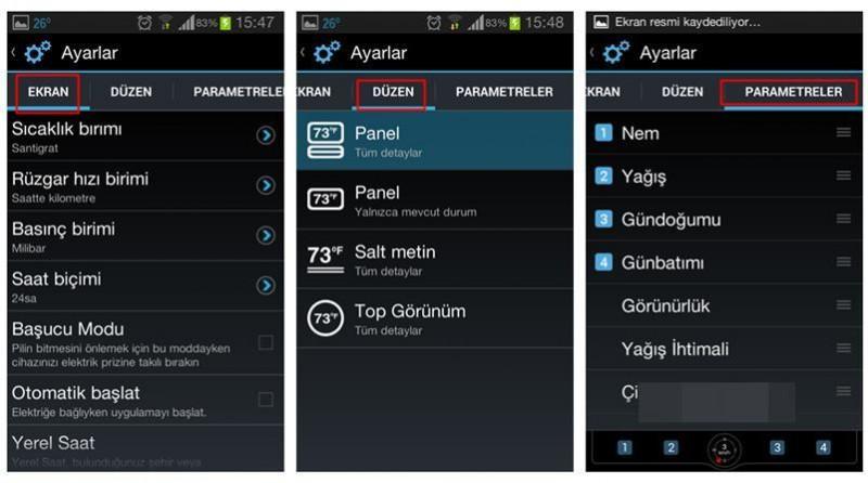 Скриншоты приложения Convertible
