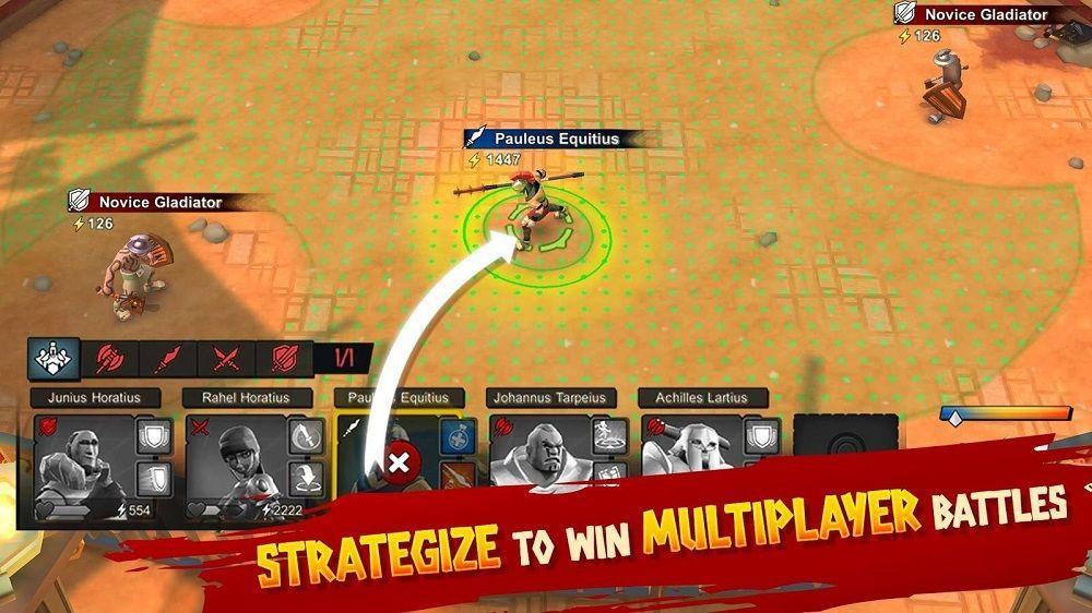 Gladiator Heroes игра