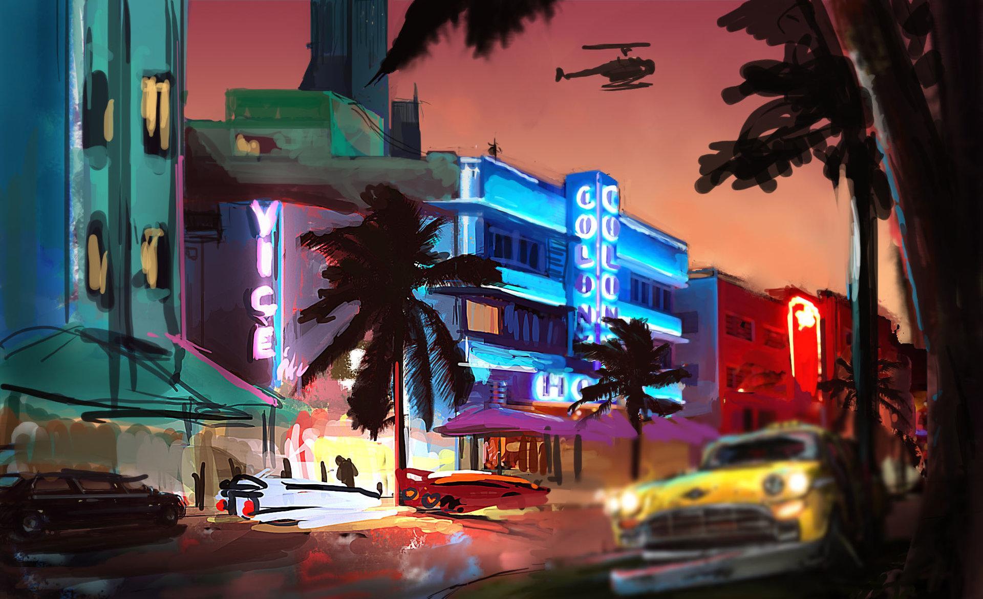 Игра Vice City