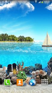 Обои Тропический океан