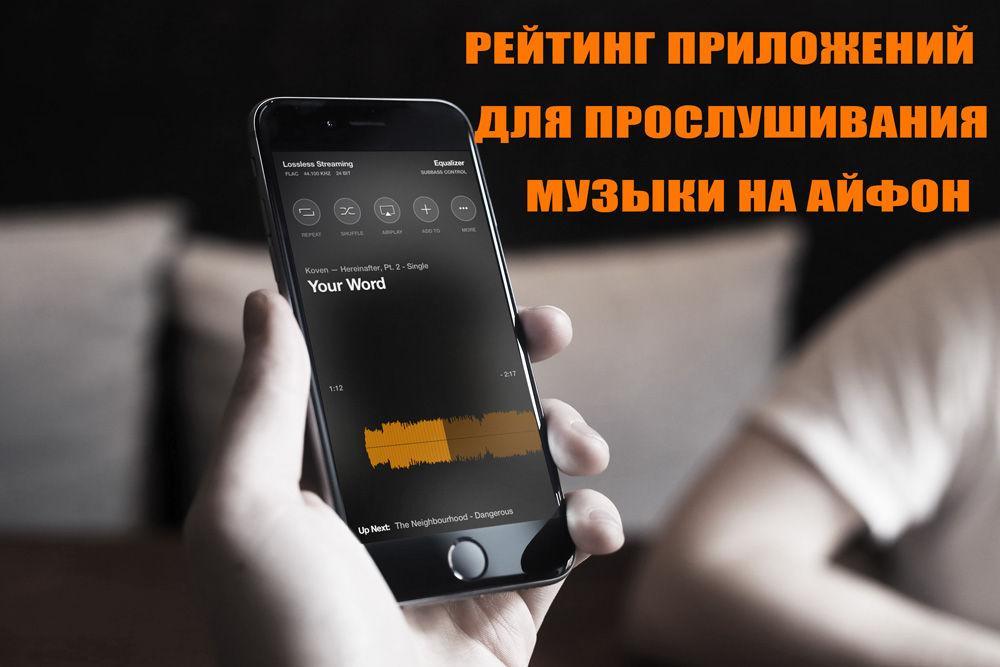 Приложение для музыки