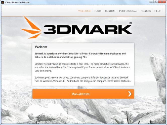 Программа 3D Mark
