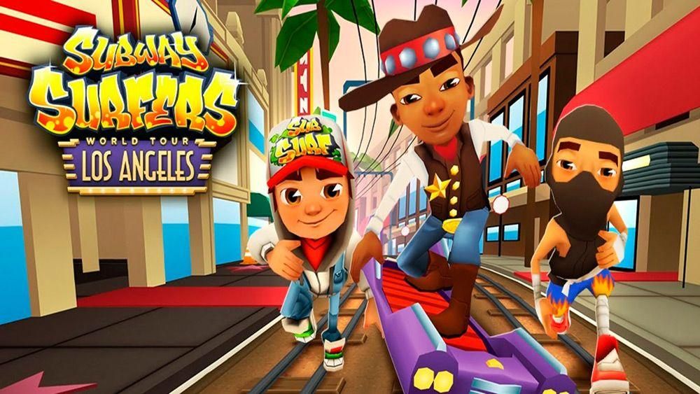 Subway Surfers игры на Андроид