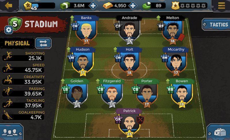 Игра Футбольный менеджер
