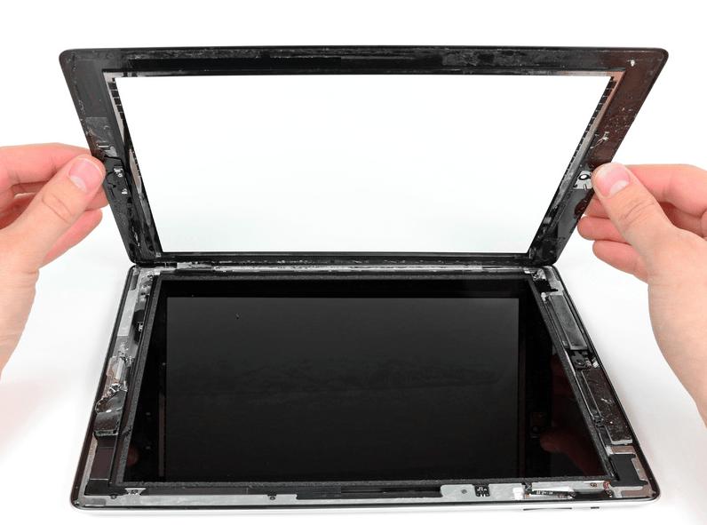 Замена стекла устройства