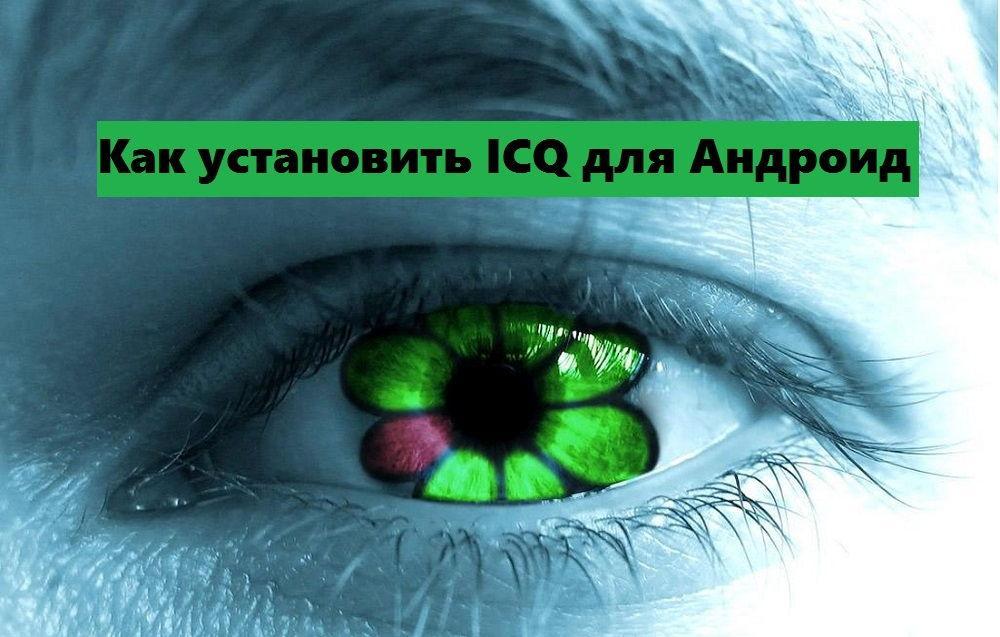 Логотип программы ICQ
