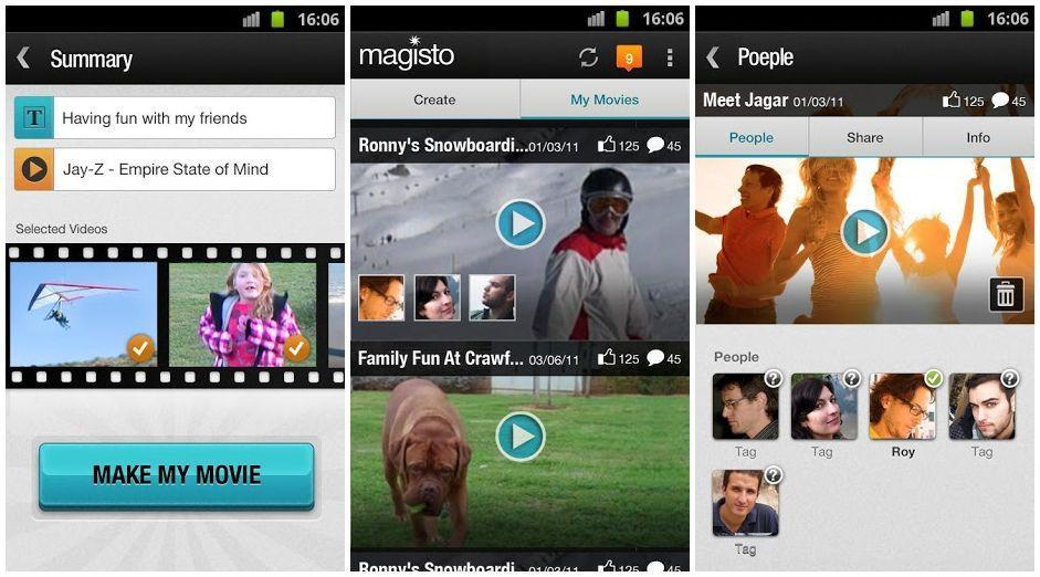 Magisto для iOS